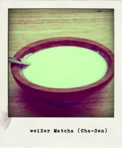 Matcha weißer Tee Cha-sen