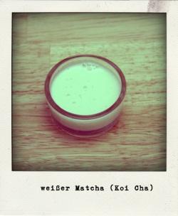 Matcha Koi-cha weißer Tee
