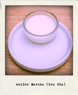 Matcha Usu-Cha weißer Tee
