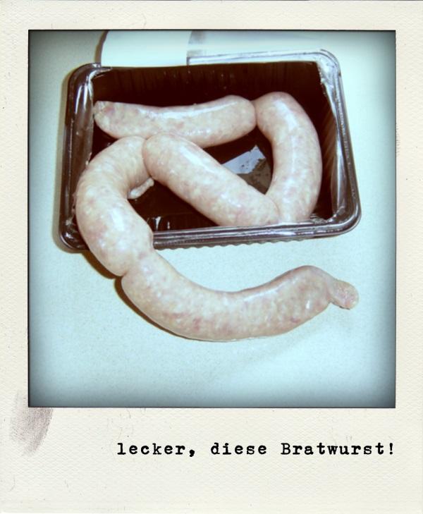 Bratwurst Polaroid
