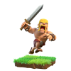 Clash of Clans Barbar