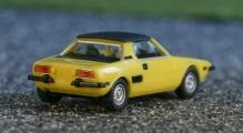 Herpa 23528 Fiat X1/9 gelb