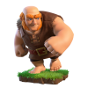 Clash of Clans Giant Riese