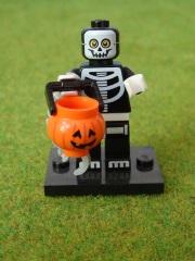 Brick 71010 Mann im Skelett-Kostüm Minifigures Serie 14