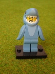 Brick 71011 Mann im Hai-Kostüm Minifigures Serie 15