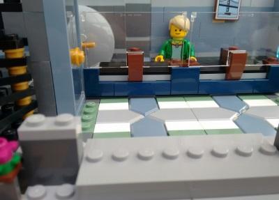 Lego 5 New Weiß Hüften und Beine mit Schwarzem Schmal Streifen Stücke Baukästen & Konstruktion