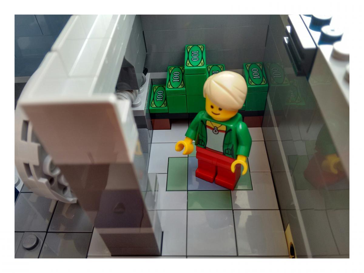 Lego Neu Mittel Dunkel Haut Minifigur Weiblich Mit Schwarzem Maske Superheld Lego Bau- & Konstruktionsspielzeug