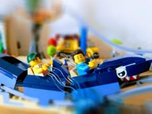 Lego 25 Neu Sand Blau Steine Modifiziert 1 X 2 mit Grill Rillen Stücke Baukästen & Konstruktion LEGO Bau- & Konstruktionsspielzeug