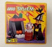 Brick System 2872 Hexe mit Ofen