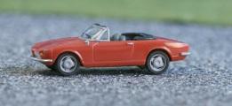 Herpa 22354 Fiat 124 Spider rot