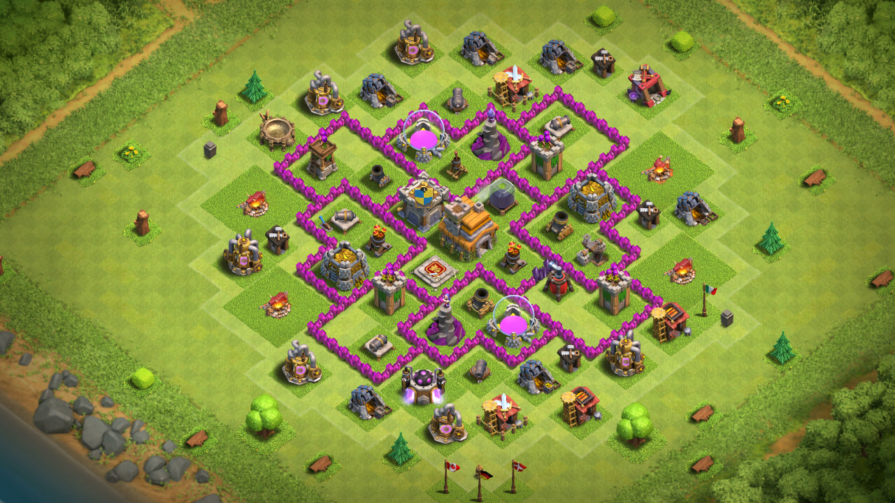 Clash Of Clans Heimatdorf Rathaus Level 7 Bestes Layout Lifesteyl
