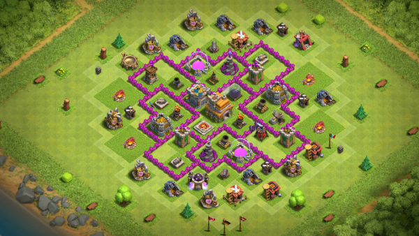 Clash of Clans Rathaus Level 7 bestes Layout