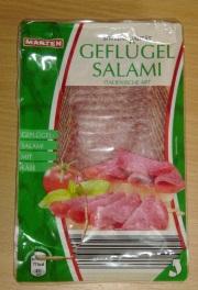 Salami Packung richtig öffnen